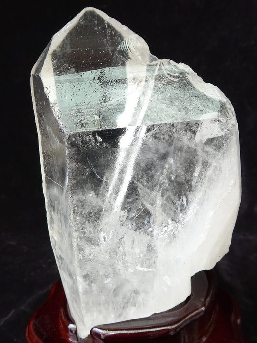 ~shalin-crystal~巴西白水晶骨幹~1.266公斤~晶質清透~質地超優~值得珍藏!