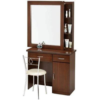 【樂樂生活精品】 《Homelike》艾凡收納化妝桌椅組(二色)  免運費! (請看關於我) 桃園市