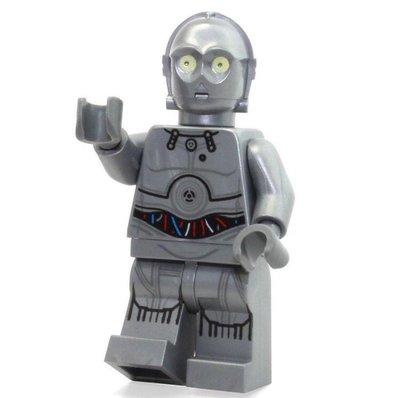 原廠樂高LEGO人偶星際大戰C-3PO (已絕版增值款)
