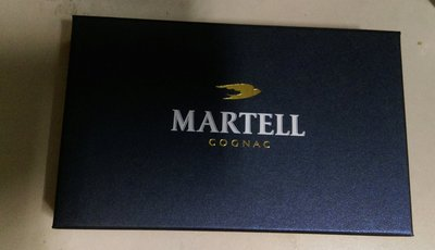 MARTELL馬爹利 限量禮盒(名片夾+鑰匙圈)