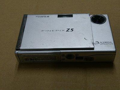 Fujifilm Finepix Z5大約630萬畫素數位相機 (不知好壞,當故障品隨便賣,不保固,售出後,不接受退貨。