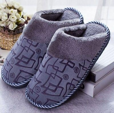 全包跟棉拖鞋女士秋冬季居家室內厚底防滑保暖大碼毛毛月子拖鞋男 雙12鉅惠交換禮物