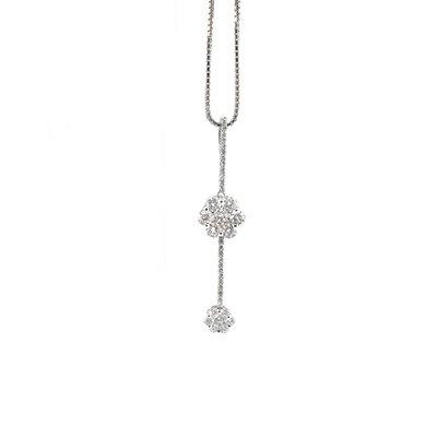 【JHT金宏總珠寶/GIA鑽石專賣】日本製天然鑽石項鍊(JB45-A34)