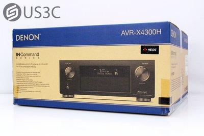 【US3C】【全新未拆】DENON AVR-X4300H 9.2聲道 AV網路環繞擴大機 杜比全景聲 支援4K 60Hz