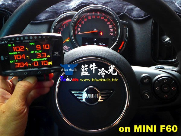【藍牛冷光】專業級 LUFI OBD 行車電腦儀表 HUD MAZDA3 FOCUS FIESTA KUGA SWIFT
