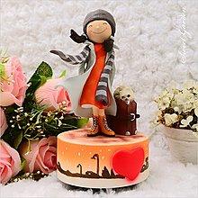 Sweet Garden, 送男女朋友禮物 生日 訂情 帶著微笑出發 WSA歸心愛戀旋轉音樂盒(免運)