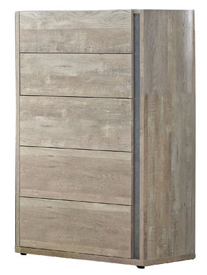 鴻宇傢俱~(YG)018-2約翰2.7尺厚切木紋五斗櫃  Y系列產品可另享折扣 桃園市