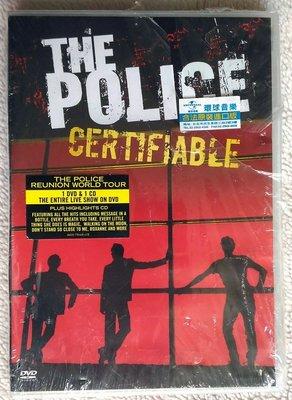 ◎2008全新未拆!史汀-警察合唱團-超級精選-實至名歸-CD+DVD-The Police-Certifiable-