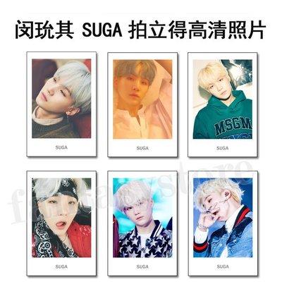 現貨💥閔玧其 BTS 拍立得LOMO小卡組 明星小卡(共6張)E676-J【玩之內】防彈少年團 SUGA