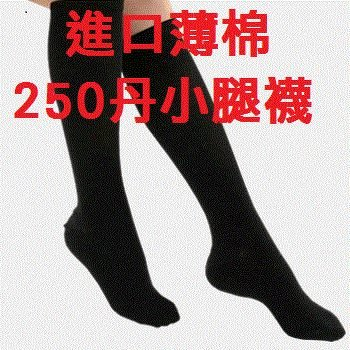 歐洲原裝進口CE認證250Den小腿襪~彈性襪,男性可用,3雙特價$2000元~lisaa168生活館 彰化縣