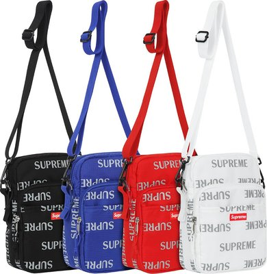 全新商品 SUPREME 16FW 41代 41TH 3M Reflective Repeat Shoulder Bag