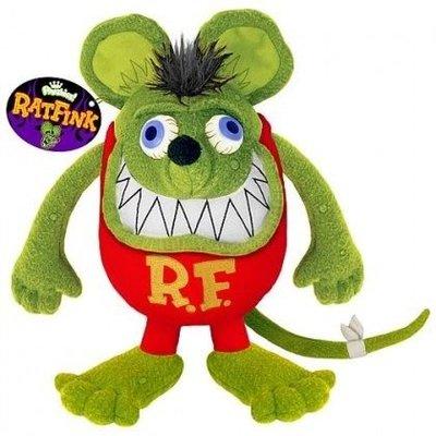 (I LOVE樂多)(僅一隻)RAT FINK RF老鼠芬克絕版娃娃 自家擺飾送人皆適宜