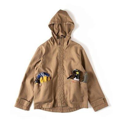|The Dood Life|GRIP SWANY FIREPROOF CAMP PARKA / 防寒防焰 帆布外套