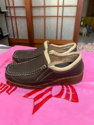「 二手鞋 」 NOBLE 休閒鞋 36號 ( 咖啡 ) 20