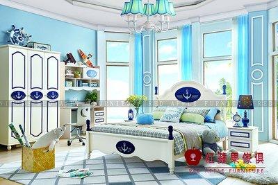 [ 紅蘋果傢俱 ] LOD-8322 兒童家具 兒童床 造型床 王子床 單人床 雙人床 床組 床架 數千坪展示