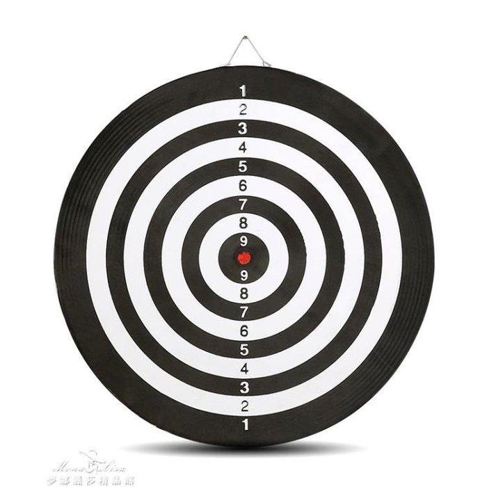 雙面飛鏢靶專業飛鏢盤套裝15寸18寸成人兒童娛樂磁鐵飛鏢植絨硬質