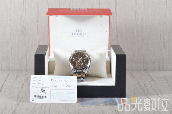【品光攝影】TISSOT T0356171105100 建構師系列 40mm 三眼計時腕錶 #XX0123