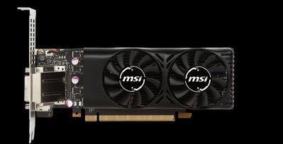 超取免運費 MSI 微星 Geforce GTX 1050Ti 4GT LP 短卡顯示卡
