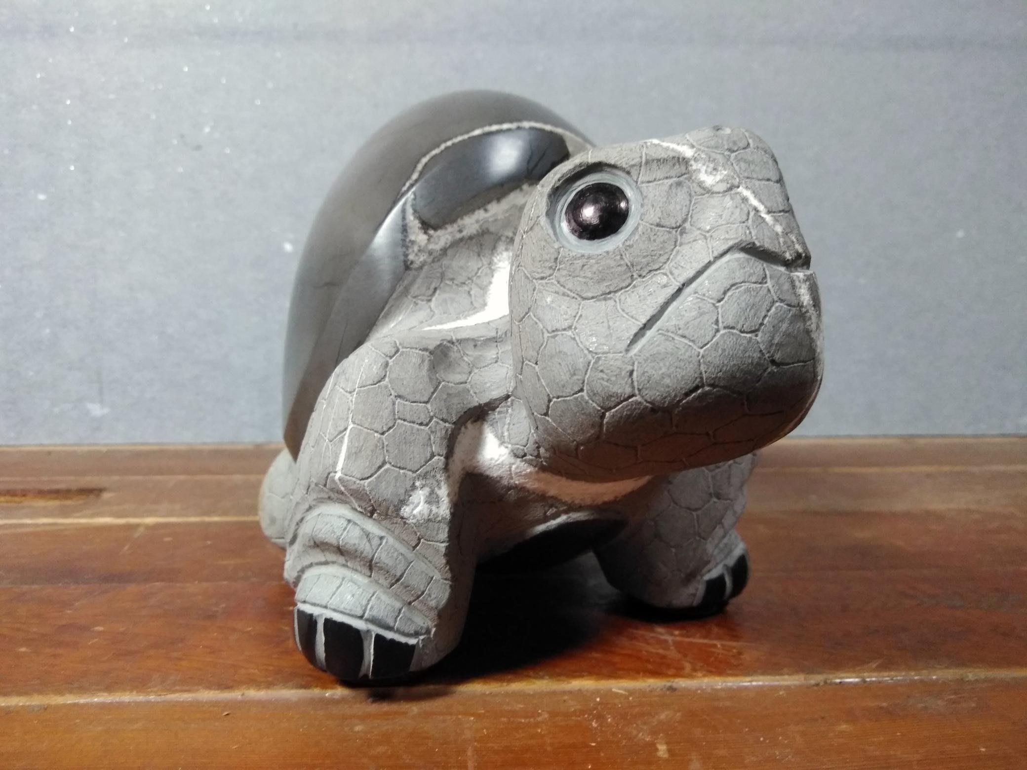 典藏梁號君-龜甲石平安龜