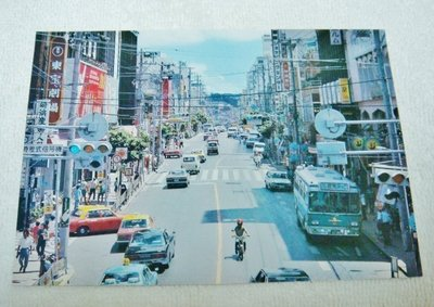 早期日本沖繩 那霸市國際通り 明信片