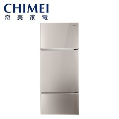 【0卡分期】CHIMEI奇美 481公升 一級能效變頻三門電冰箱 UR-P481VC ECO⁺智慧節能 非國際