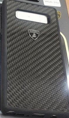彰化手機館 NOTE8 手機殼 背蓋 藍寶堅尼 正版授權 保護殼 三星 軟殼