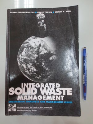 D6-5cd☆1993年『 Stock Image Integrated Solid Waste Management』