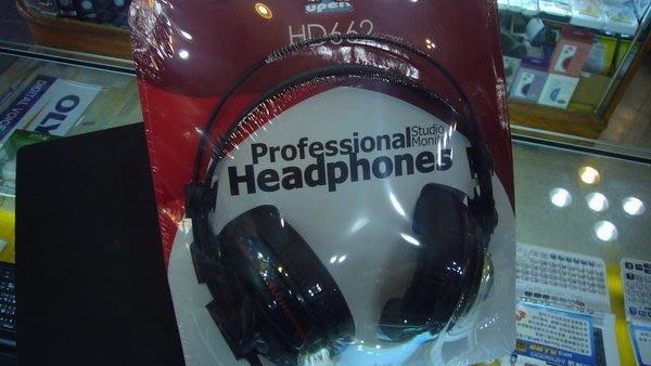 特價視聽影訊 SuperLux HD662   監聽頭戴耳機 公司貨保固一年 另有HD202 UR40 HA-S