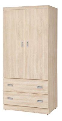 【南洋風休閒傢俱】精選時尚衣櫥 衣櫃 置物櫃 拉門櫃 造型櫃設計櫃- 3*6尺浮雕梧桐衣櫥 CY185-369