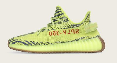 【紐約范特西】預購 Yeezy boost 350 V2 Semi Frozen Yellow B37572 螢光綠