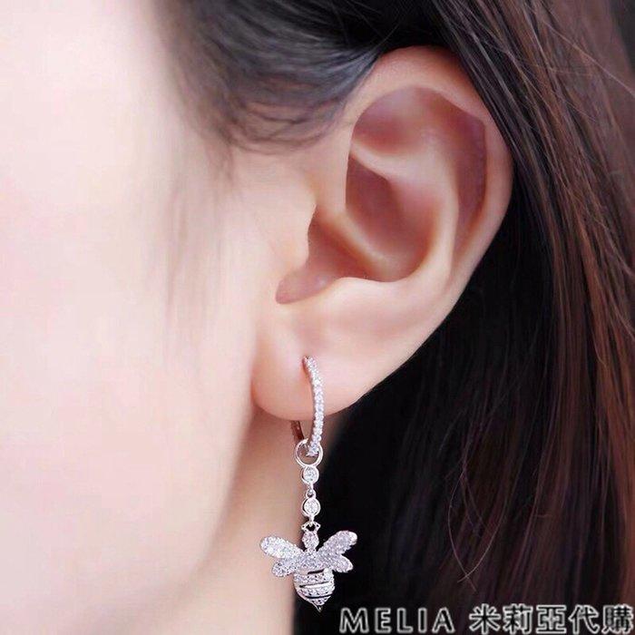 Melia 米莉亞代購 商城特價 數量有限 每日更新 19ss APM MONACO 飾品 不對稱耳環 鑲晶鑽小蜜蜂