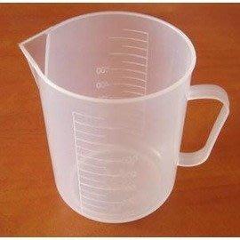 量杯 500ML 塑膠量杯 刻度-7201005