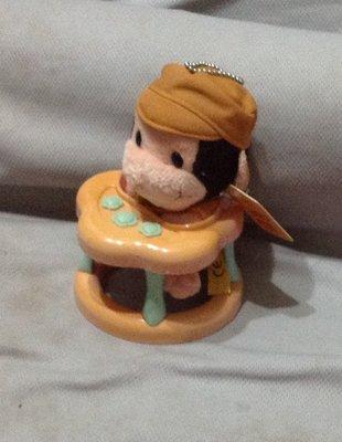 全新可愛猴坐學步車