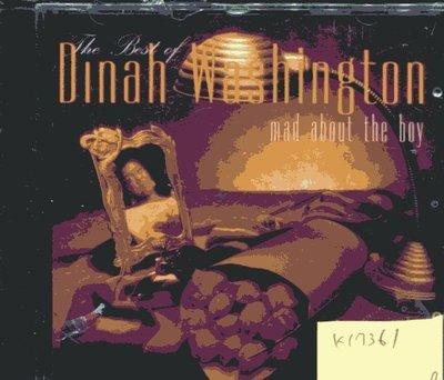 *真音樂* DINAH WASHINGTON / MAD ABOUT THE BOY 全新 K17361