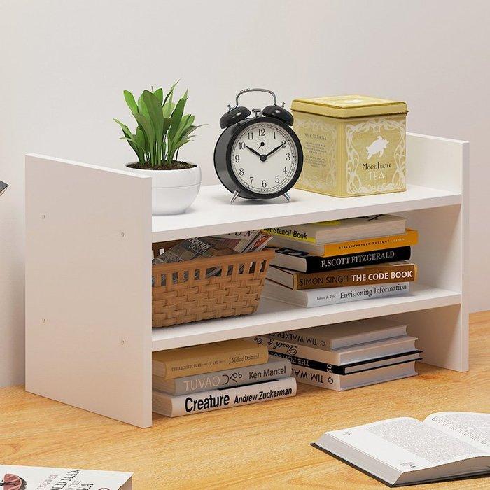 書架桌上簡約置物架創意桌面柜子學生經濟型省空間簡易書架小書柜【優品城】