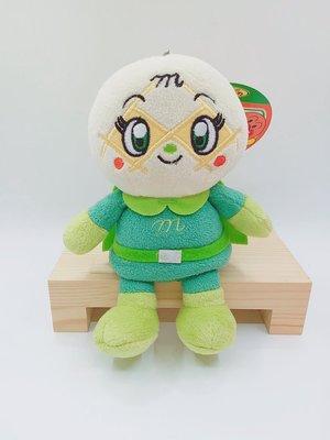 日本麵包超人商品 蜜瓜麵包超人公仔鑰匙圈吊飾