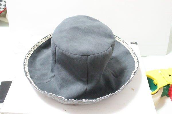 天使熊小鋪~日本帶回拼布蕾絲遮陽帽 日本製布刀片帽 蕾絲軟呢帽防曬帽 遮陽帽~