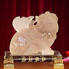 〖洋碼頭〗開光招財貔貅風水吉祥物擺件家居風水工藝品辦公室客廳 xtj211
