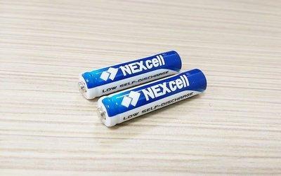 ✿國際電通✿【一顆40元,台灣製造】NEXcell 耐能 低自放 低放電 4號充電電池 / 電容量 800mAh