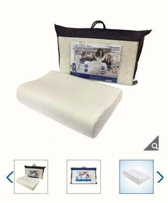 【多娜小鋪】Reverie 人體工學乳膠枕 60x40x10/12 公分/含運1190元/抗螨抗菌/好市多代購