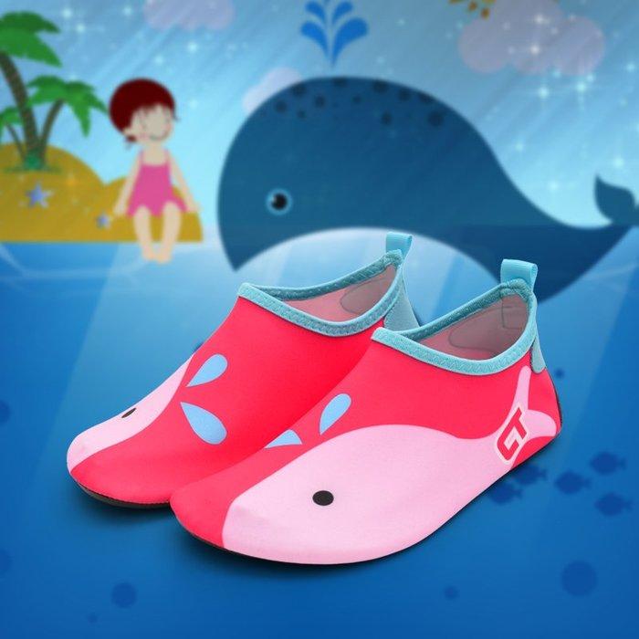 小花花精貨店-兒童沙灘襪鞋潛水浮潛鞋女防滑漂流軟底鞋男海邊度假速干鞋#沙灘鞋