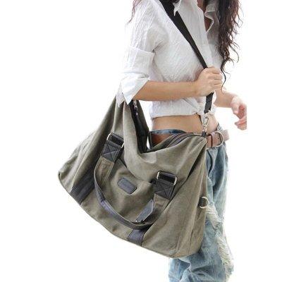 潮人韓版男女休閒包側背包斜背包旅行大包