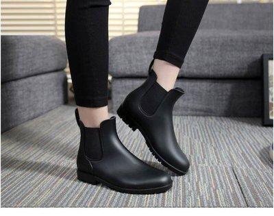 霧面短版雨鞋 雨靴 晴雨兩穿 現貨5個...