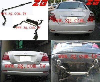 新竹ZG排氣管!!!三菱 GRUNDER SAVRIN 白鐵代觸媒+中段+後段. 單邊.雙邊型小聲浪音.