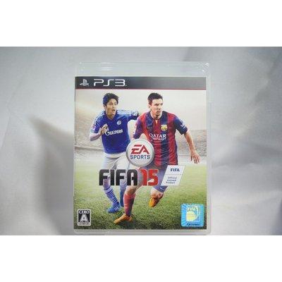 [耀西]二手 純日版 SONY PS3 國際足盟大賽 FIFA 15 含稅附發票