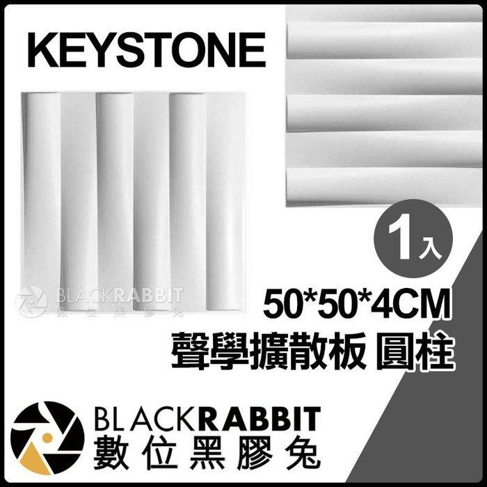 數位黑膠兔【 KEYSTONE 聲學擴散板 圓柱 50*50*4CM 】 吸音 海綿 隔音 錄音室 會議室