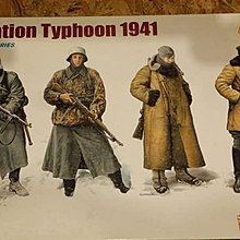 DRAGON 1/35 GERMAN OPERATION TYPHOON 1941