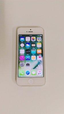 iPhone 5 空機 白色32G 功能正常 美品 Iphone5  白色 螢幕美 外觀好 狀態新 按鍵正常 電池健康 台中市