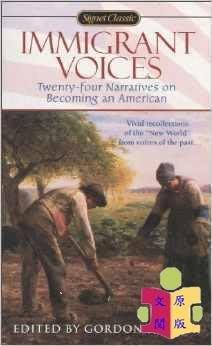 [文閲原版][英文原版]Immigrant Voices