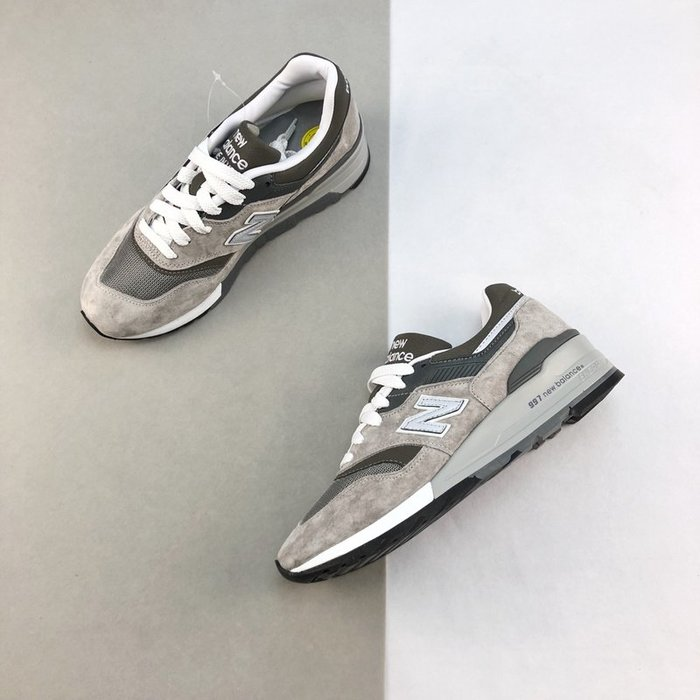 New Balance 997 新百倫 經典 復古 元祖灰 麂皮 美產 休閒慢跑鞋 M997GY